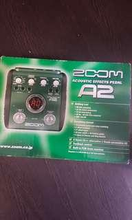 Zoom A2 guitar acoustic effects pedal