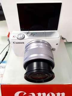 Kamera Canon Eos M10 (Kredit 3 Menit Tanpa CC)