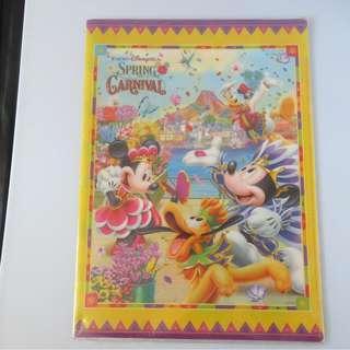 Tokyo Disney Sea Spring Carnival File (包本地平郵)