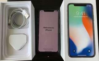 Preloved iphone X 64GB (Mint condition)