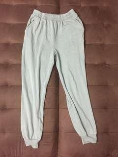 Forever 21 Joggers Mint Green