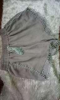 Pompom or boho shorts