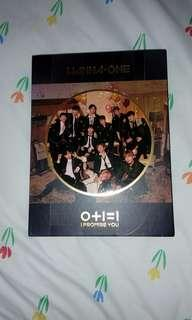 Wanna One I Promise You Night album