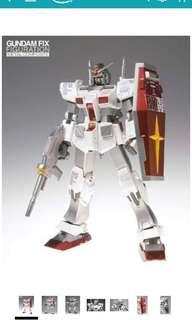 Rare Tamashii Nation 2010 Metal composite RX-78/2 (Roll-Out Color)