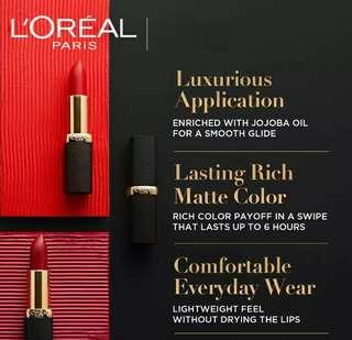 💯 Authentic L'Oreal Color Riche Mattes Lipsticks 💄