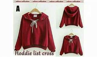 Sweater Hoodie List Cross