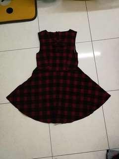 Brand new dress with belt