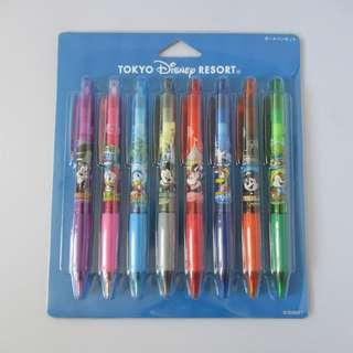 Tokyo Disney Resort 筆 x 8 (包本地平郵)