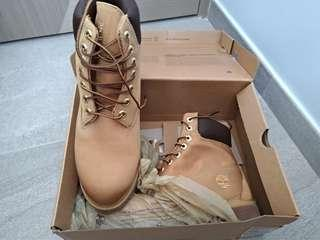 timberland 黃色boot, ion mask 防水, us 7.5 全新