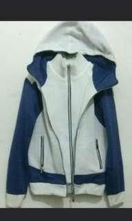 Jaket fashion double zipper