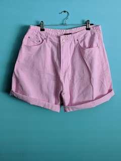 🔥 Bubblegum pink high waisted shorts 🔥