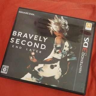 3DS Games - bravely second (Japanese)