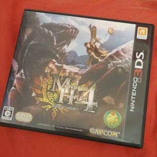 3DS Game - Monster Hunt 4 (Japanese)
