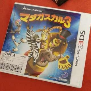 3DS Game - Madagascar 3 (Japanese)