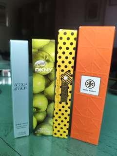 Roll-On Perfumes MJ, Armani, DKNY, Tory Burch