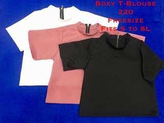 Boxy T-Blouse