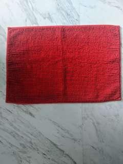 IKEA Bathroom Mat - Red