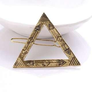 Triangle Ethnic Hair Clip