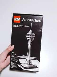 authentic lego seattle space needle