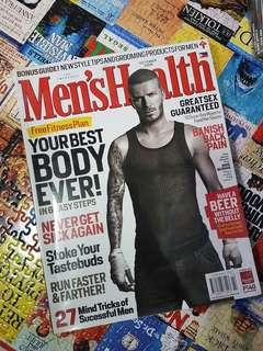 David Beckham - Men's Health PH