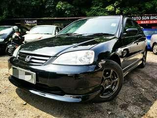 2004 Honda CIVIC 1.7(A) Vtec loankedai mukosikit confirm lulus
