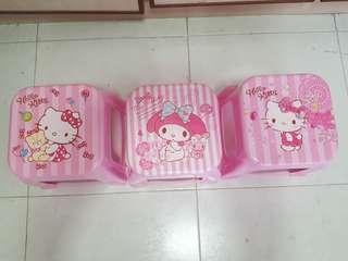Hello Kitty / Melody Stool