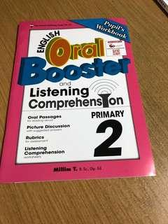 Oral Booster and Listening Comprehension for Primary 2