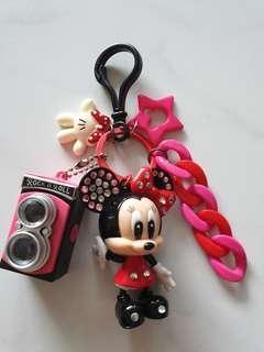 BN Minnie Mouse Bag  Charm