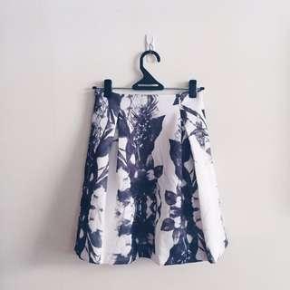 Cheris Floral Skirt