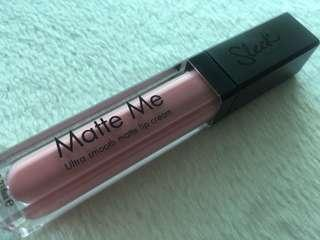 Sleek Matte Me Ultra Smooth Matte Lip Cream 6ml PETAL