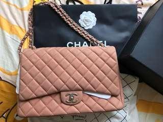 Chanel Classic double flap Bag (Maxi Size)
