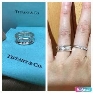 原價$1400 Tiffany 1837™純銀戒指