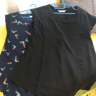 Clothing, Shoes & Accessories H & M Mama Maternity Top Black And White Size Large Worn Once Excellent Quality