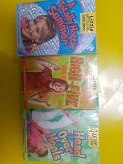 Lizzie Mcguire 3pcs book Bundle