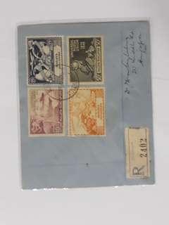 Singapore FDC 1949