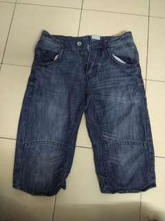 Denim H&M Short #post1111