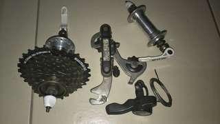 7 Speed Bike Parts