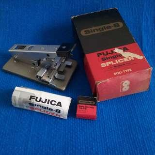 Vintage FUJICA Single-8 Splicer for 8mm movie film from the early 60's - a collector's item