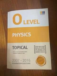 O Level Physics TYS Topical