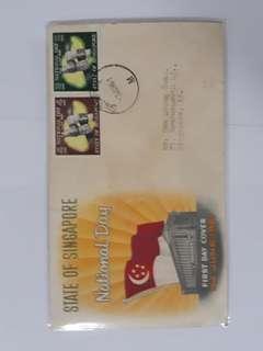 Singapore FDC 1961