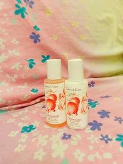 Crabtree & Evelyn Skin Cleansing Bath& Shower Gel and Body Lotion, 50ml