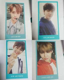 Wannaone Membership Card