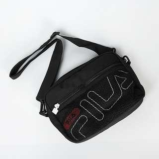 🚚 💥CHEAPEST - Fila Medium Size Mesh Multi-Compartment Sling Bag