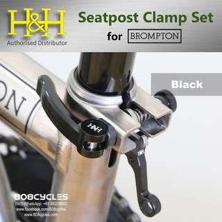 Brompton Seatpost Clamp Set by H&H