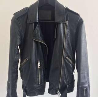 AllSaints Belfern Leather Jacket