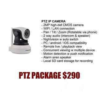 CCTV Vstarcam ptz ip camera package