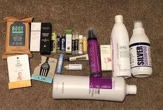 DESIGNER HAIRCARE AND BEAUTY PRODUCTS