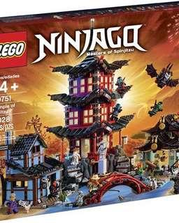 樂高 LEGO 70751 NINJAGO 旋風忍者 Temple of Airjitzu 空術神廟