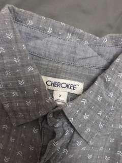 Cherokee L/S shirt 7Y