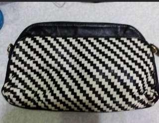 New Genuine leather clutch
